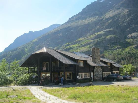 TBCM Blog Devotional - FDR (1930s) Fireside Chats Swiss chalet at Two Medicine Lake in Glacier National Park - D_Manka - Oct2014