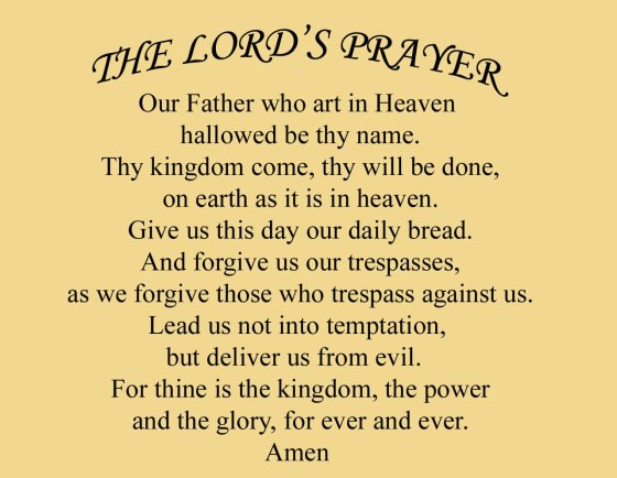 lordprayer
