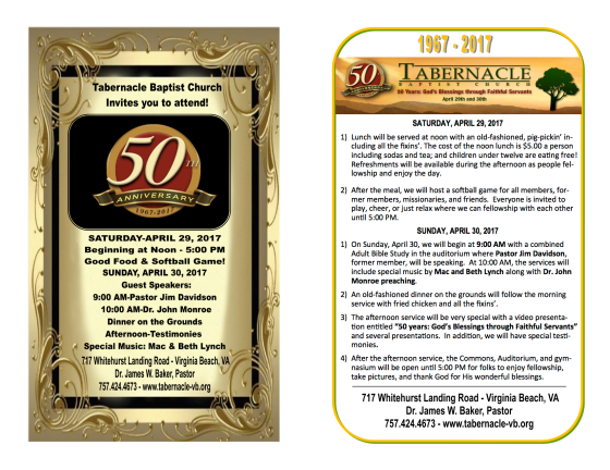 4-2017 50th ANNIVERSARY FLYER